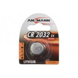 BLISTER 2 PILES CR2032 3V ANSMANN