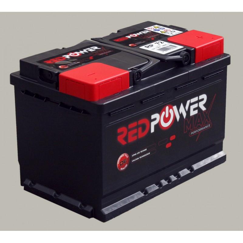 batterie red power 12v 72ah l03. Black Bedroom Furniture Sets. Home Design Ideas