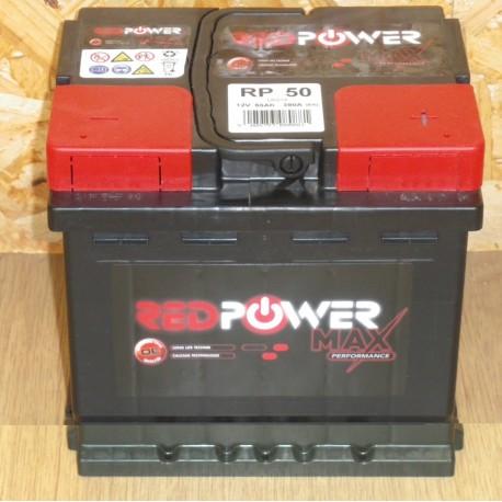 batterie banner red power l1 12v 50ah. Black Bedroom Furniture Sets. Home Design Ideas