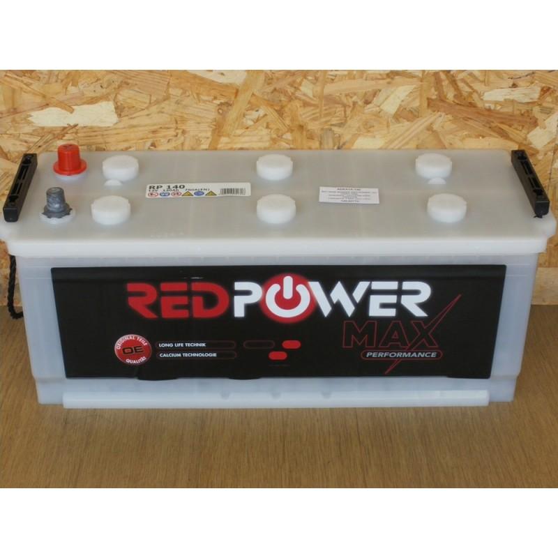 batterie banner red power 12v 140ah 760a. Black Bedroom Furniture Sets. Home Design Ideas