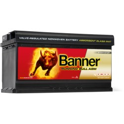 batterie agm banner running bull 92ah 59501. Black Bedroom Furniture Sets. Home Design Ideas