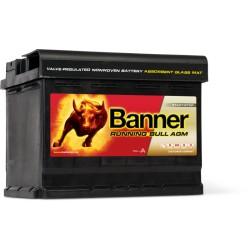 BATTERIE BANNER AGM 56001 12V 60AH 640A