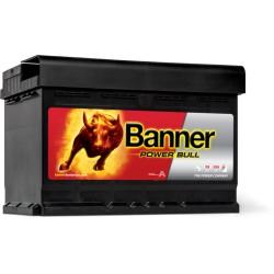 BATTERIE BANNER Power Bull P7209 12V 72AH 660A