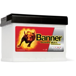 BATTERIE BANNER Power Bull P6340 12V 63Ah 600EN