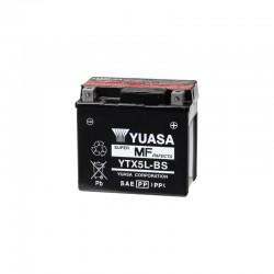 BATTERIE MOTO YUASA YTX5L-BS
