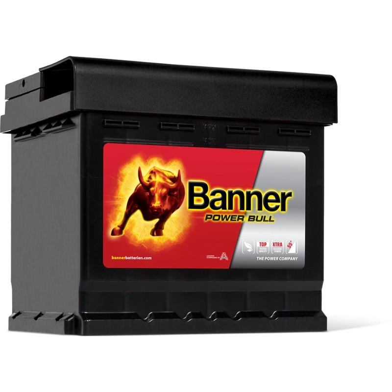 batterie banner power bull 12v 50ah 450a p5003 point energy 71. Black Bedroom Furniture Sets. Home Design Ideas
