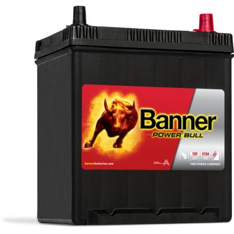 batterie banner power bull p4025 12v 40ah 330a. Black Bedroom Furniture Sets. Home Design Ideas