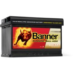 BATTERIE EFB BANNER Running Bull 80Ah 58011