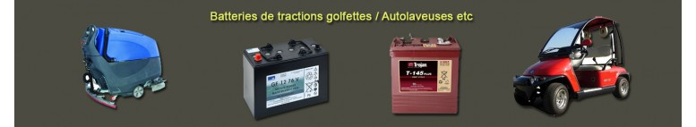 Golfettes Traction