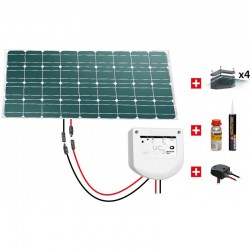 KIT SOLAIRE CAMPING CAR 12V100W