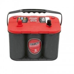 BATTERIE OPTIMA ROUGE RTR 4.2 12V 50Ah 815A