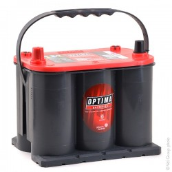 BATTERIE OPTIMA ROUGE RTS 3.7L 12V 44AH 730A (EN) 910A (CA)
