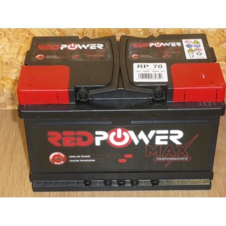 BATTERIE BANNER RED POWER 12V 70AH 640A