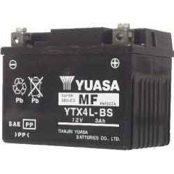 BATTERIE MOTO YUASA YTX4L-BS