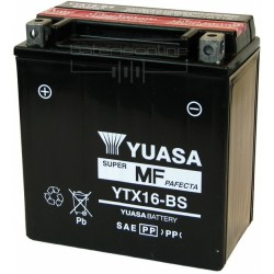BATTERIE MOTO YUASA YTX16-BS