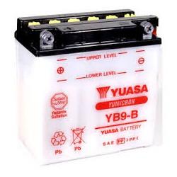 BATTERIE MOTO YUASA YB9-B
