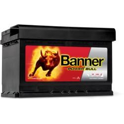 BATTERIE BANNER Power Bull P7412DT 12V 74AH 680EN