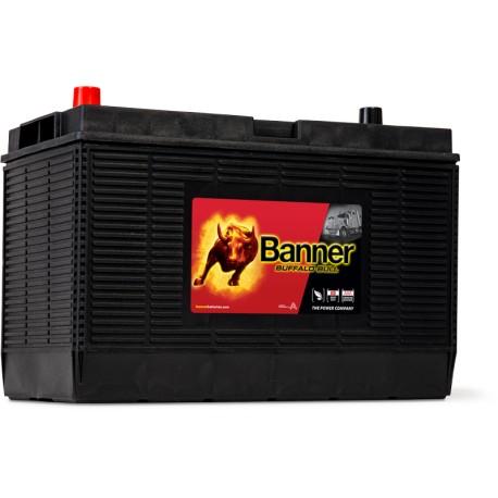 BATTERIE BANNER BUFFALO BULL 12V 105AH 1000 A