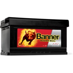BATTERIE BANNER Power Bull 12V 80Ah 700A