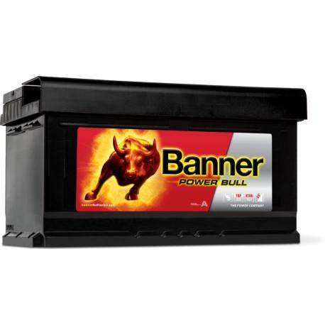 BATTERIE BANNER Power Bull 12V 80Ah 700A