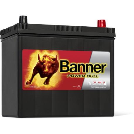 BATTERIE BANNER Power Bull P4523 12V 45Ah 390A