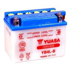 BATTERIE MOTO YUASA YB4L-B