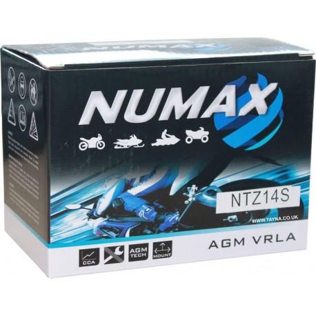 BATTERIE MOTO NUMAX YTZ14S-BS