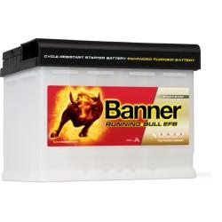 BATTERIE BANNER EFB Running Bull 60AH 560A