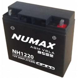 BATTERIE NUMAX NH1220 12V 20AH 275A