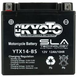 BATTERIE MOTO KYOTO YTX14-BS 12v 12Ah