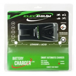 CHARGEUR MOTO SCOOT 12V 400Ma