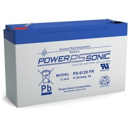 BATTERIE POWERSONIC 6V 12AH PS-6120 V0
