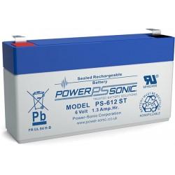 BATTERIE AGM POWERSONIC 6V 1.3AH V0