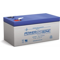BATTERIE AGM POWERSONIC 12V 3.4Ah V0