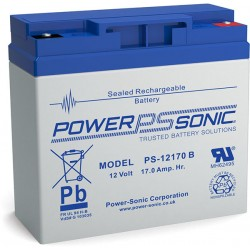BATTERIE AGM POWERSONIC PS-1217 B 12V 17Ah