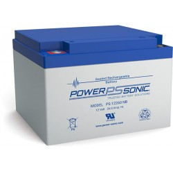 BATTERIE PB AGM POWERSONIC 12V 26Ah PS-12260