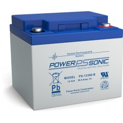 BATTERIE AGM POWERSONIC PS-12380 12V 38Ah