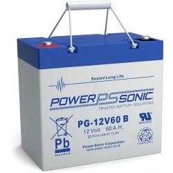 BATTERIE AGM POWERSONIC PG-12V60 12V 60AH