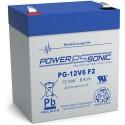 BATTERIE AGM POWERSONIC PG-12V6 F2 12V 6Ah