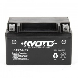 BATTERIE MOTO KYOTO YTX7A-BS