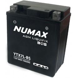 BATTERIE MOTO NUMAX YTX7L-BS
